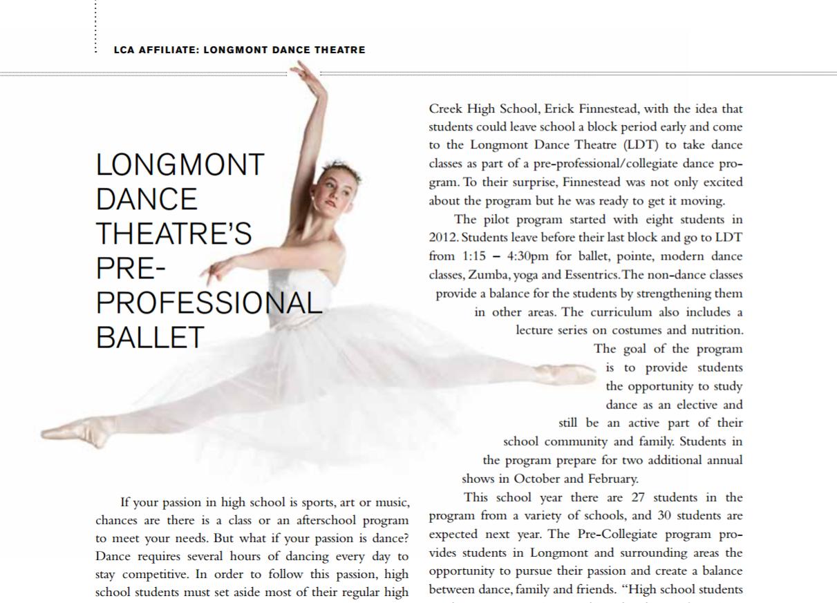 boulder dance studios | centennial state ballet