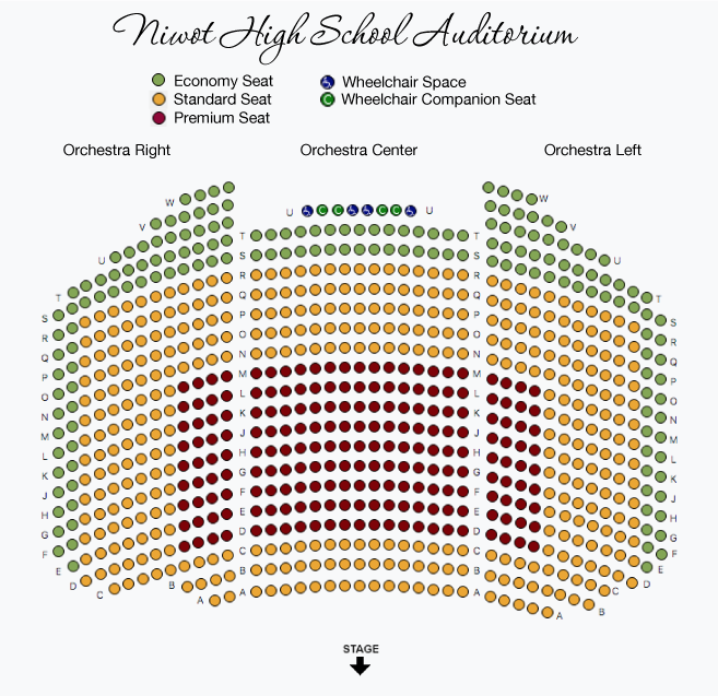 PM Niwot Seatmap